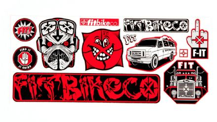 FIT Sticker Sheet 4x9